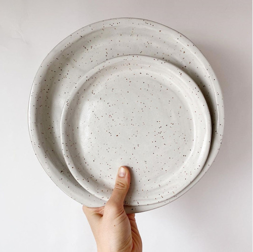 Speckled Dinner Plates