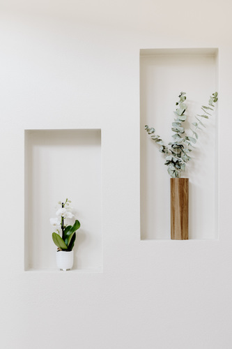 Facceted Wooden Vase