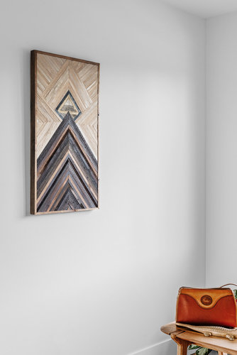 Geometric Wood Hanging