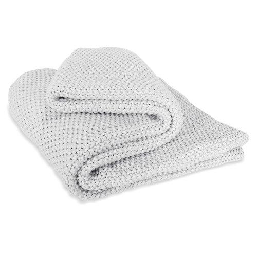 Jozy Throw Blanket - Heather Gray