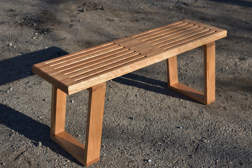 Cantor Bench - Cherry