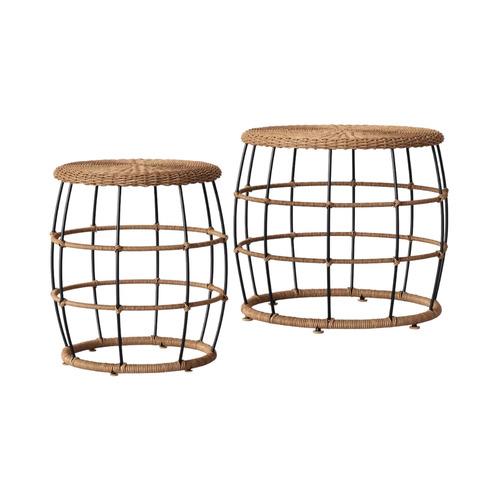 Nesting Patio Table Set