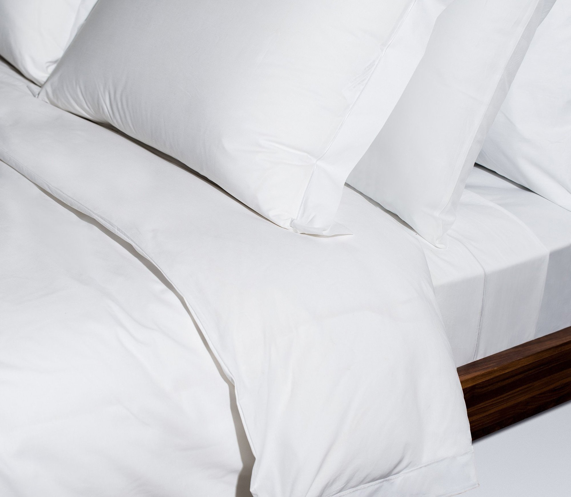 Sateen Sheet Set - (Queen, White)