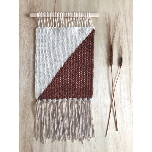 Cinnamon and Linen Tapestry