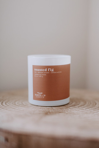 Toasted Fig Soy Candle