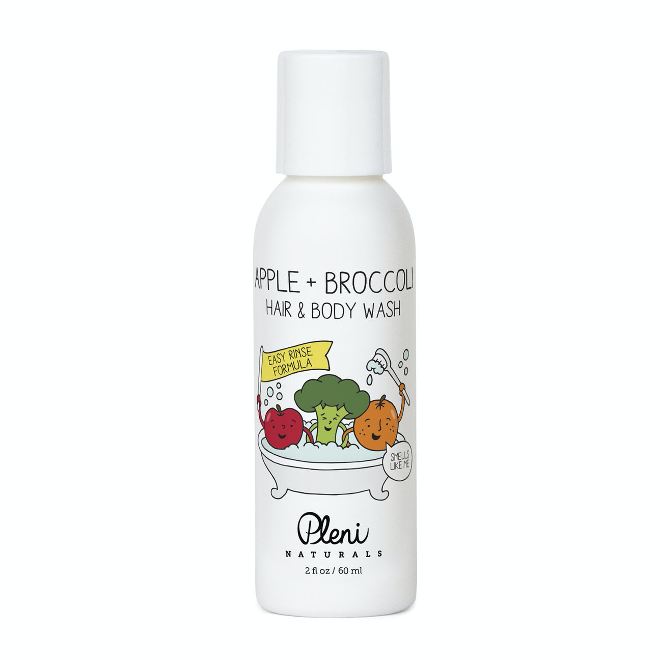 APPLE + BROCCOLI HAIR & BODY WASH 2fl oz