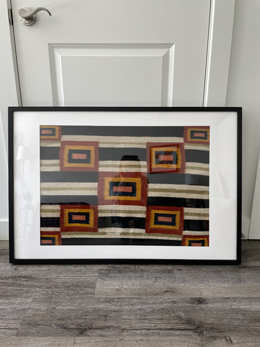 Framed Textile 13