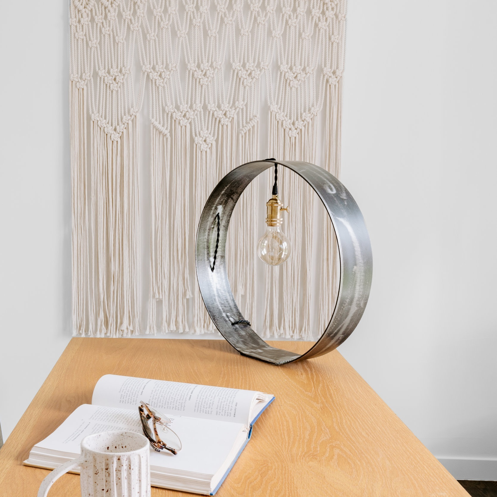 Round Desk Lamp