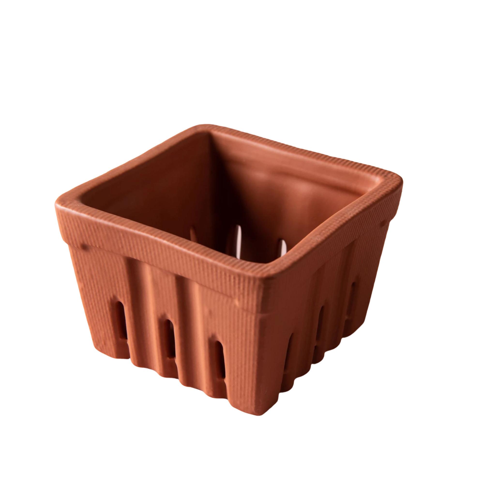 Terracotta Berry Basket