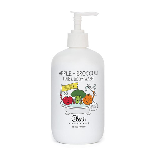 APPLE + BROCCOLI HAIR & BODY WASH 16  oz