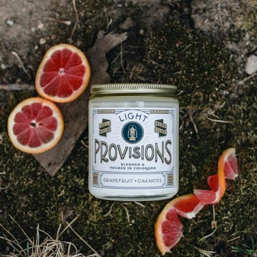 Grapefruit + Oakmoss Candle (8 oz.)