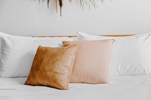 Rose Quartz Pillow