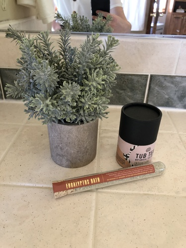 Eucalyptus Bath Salt Test Tube