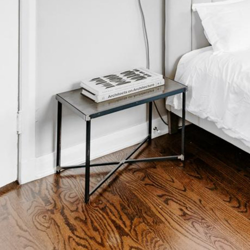Steel End Table
