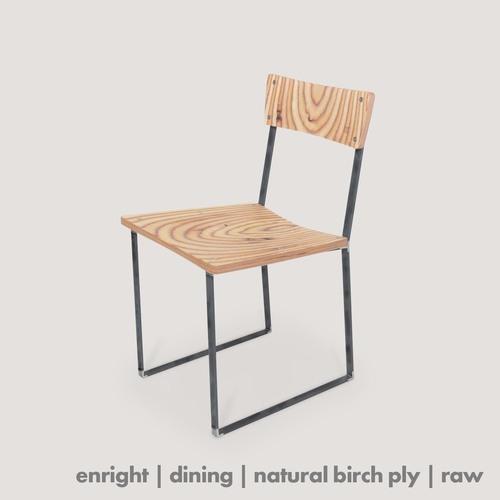 Enright Chair - birch ply/raw