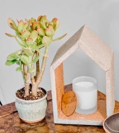 Cutout House Shelf