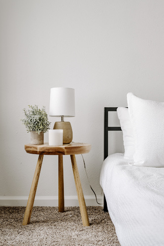 Ash Side Table