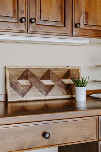 Wood Wall Art II