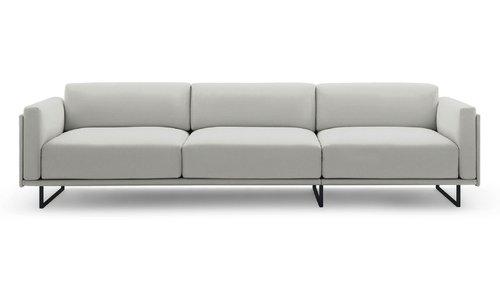 Noord 3 Seater Sofa (Snow White)