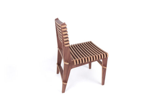Slat Chair - walnut