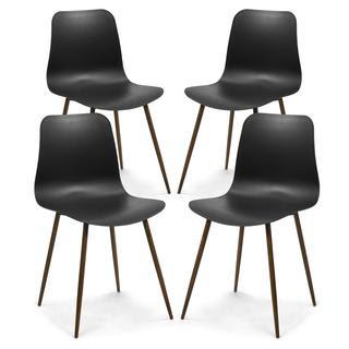 Alva Dining Chair - Black
