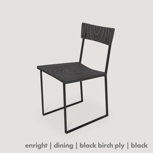 Enright Chair - black/black