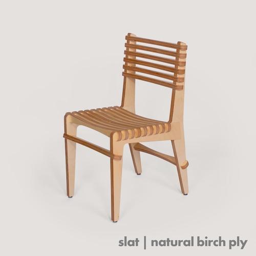 Slat Chair - birch ply