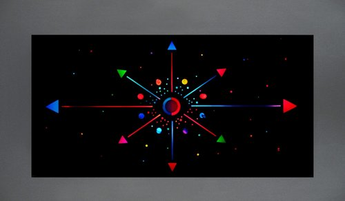Cosmic Clock by Dorothy and Mel Tanner