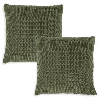 Jozy Throw Pillow- Ivy Green