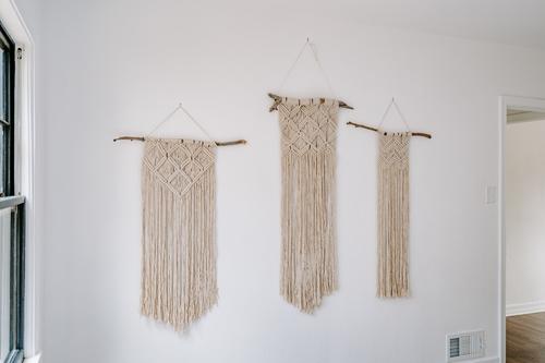 Large macrame hanging 1