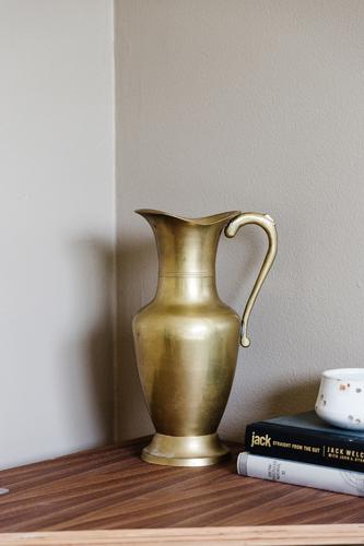Vintage Brass Pitcher
