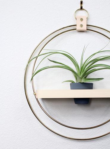Plant Shelf Charcoal