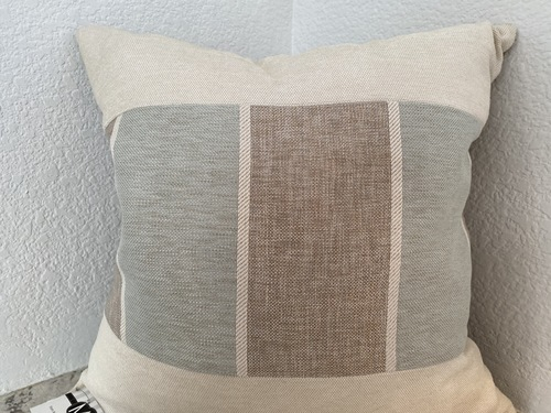 Large Blocks with Linen Silk Back