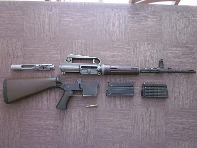 AR10 seperate parts