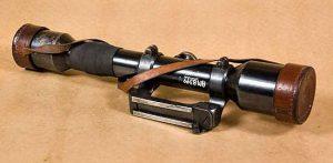 A 1941 Swedish rifle scope