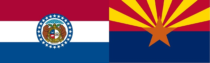 Missouri-Arizona Flag