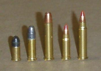 5 rimfire cartridges