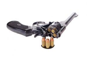 Antique British Webley Mark VI revolver