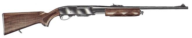 pump action Remington_760
