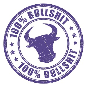 Bullshit stamp