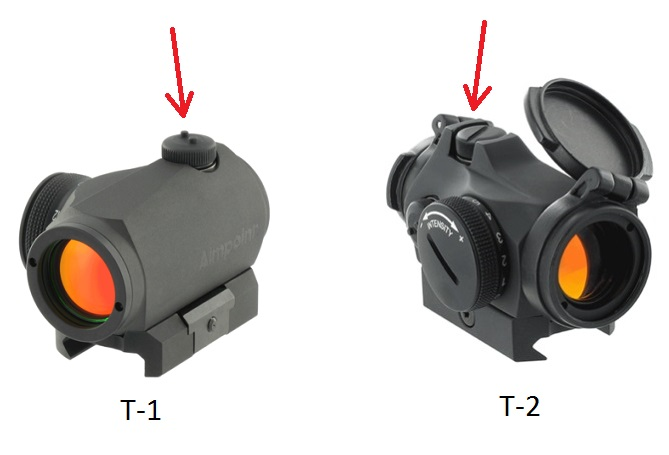 AIMPOINT MICRO T-2 & T-1 turrets