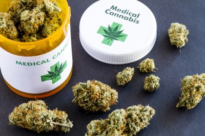 Medical Marijuana Bottle