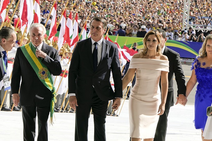 Brazil president inauguration