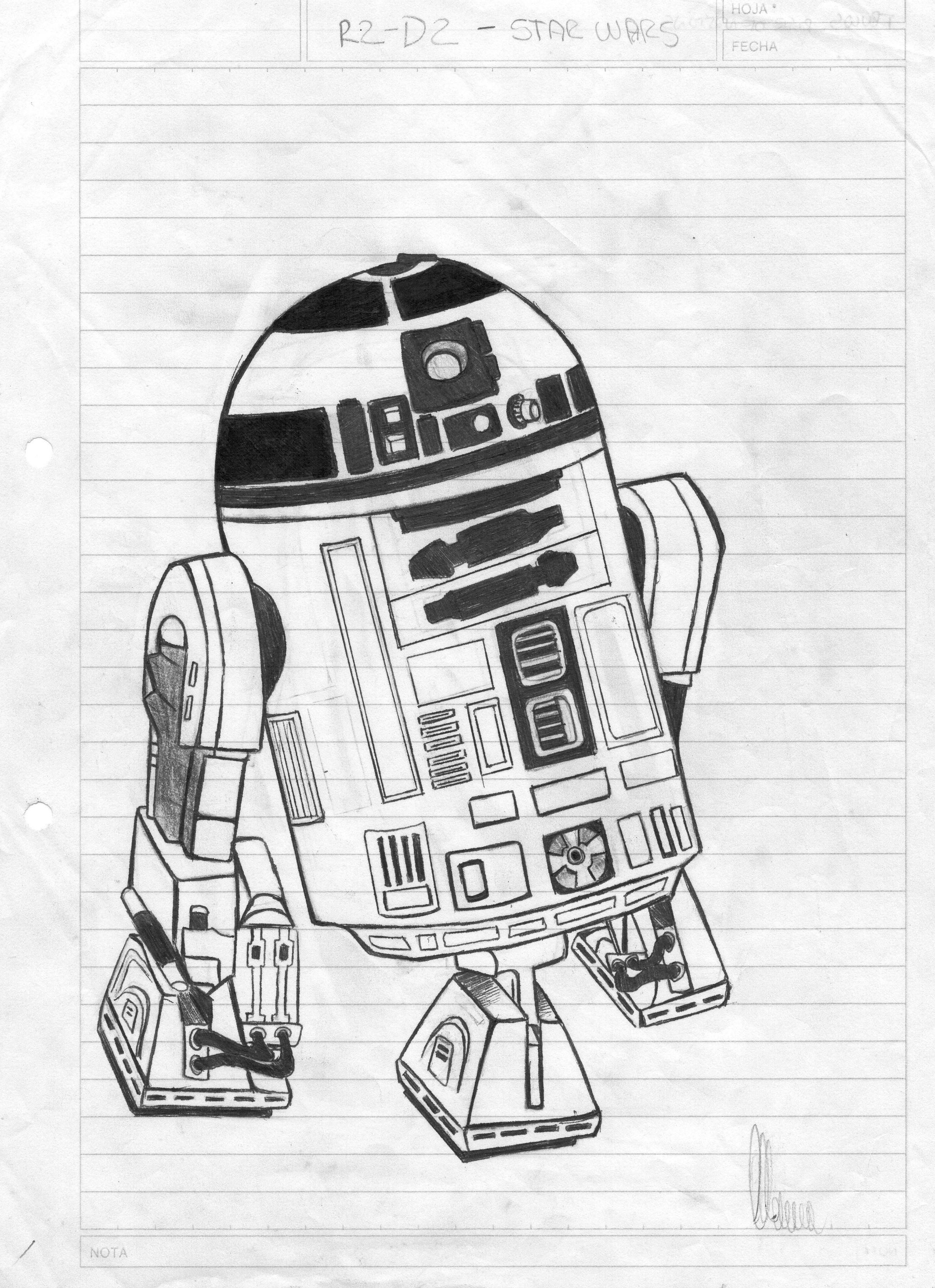 Dibujos propios de Star Wars + pequeña yapa