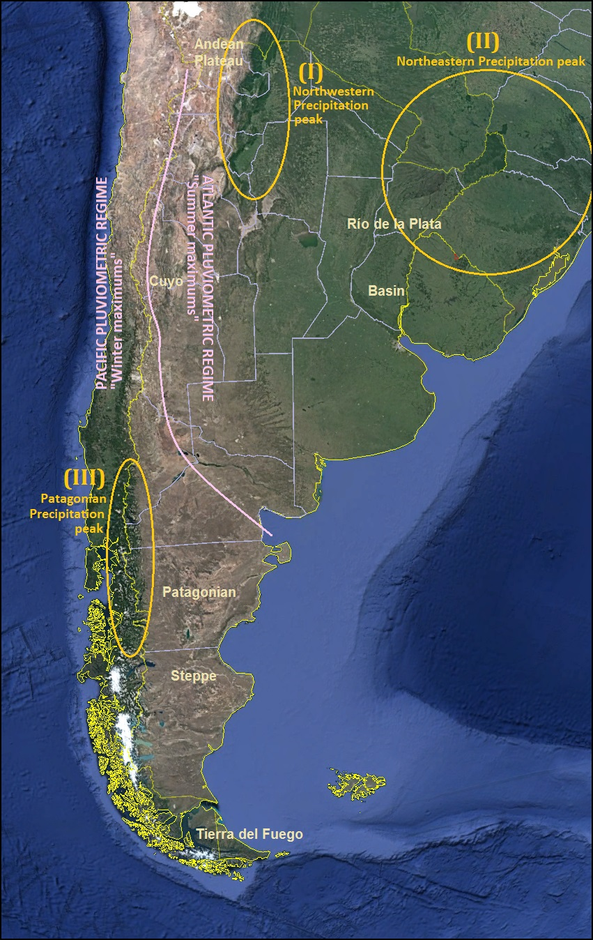 Climate Of Argentina Snowy Hottest Warm Records Weather - Argentina rainfall map