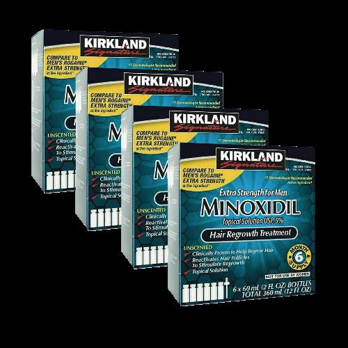 Minoxidil Kirkland 5% por 24 meses