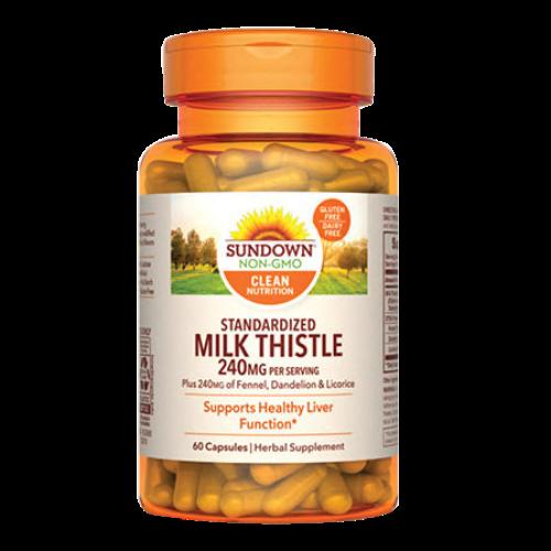Milk Thistle (fortalecimiento hepático)