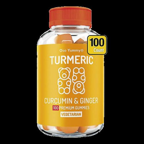 Turmeric Curcumin & Ginger 100 gummies