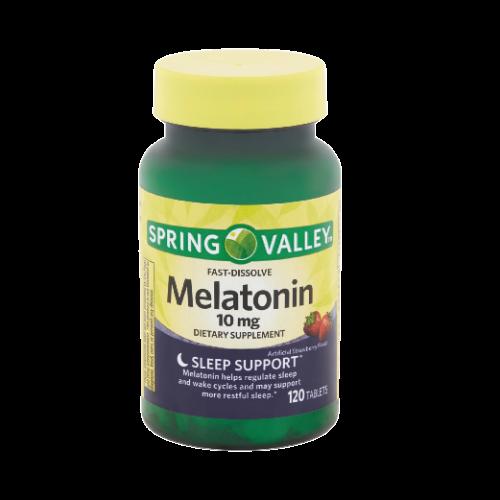 Melatonina Spring Valley 10mg 120caps