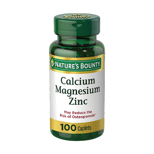 Calcium Magnesium Zinc 100caps nature's bounty
